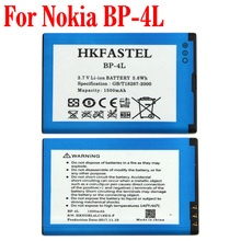 HKFASTEL New BP-4L BP 4L Battery For Nokia E52 E55 E61i E63 E71 E71X E72 E73 C7 E90 N810 N97 N97 mini Mobile Phone(China)