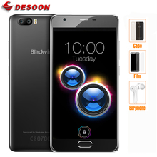 "Dual Cameras 5.0"" HD Blackview A9 PRO Smartphone 4G Android 7.0 2GB 16GB Mobile Phone 8.0MP Front Fingerprint ID Cellphone(China)"