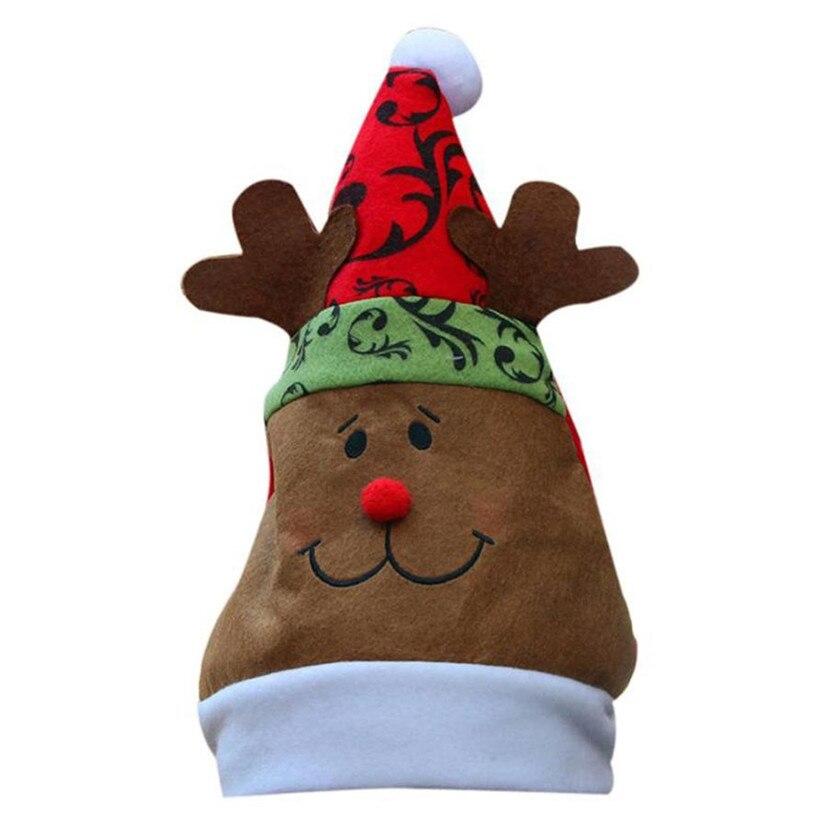 Hot Christmas Holiday Cap Hats For For Santa Claus Headgear Gifts Skullies Beanies Winter Beanie Hats For Children WOct4Îäåæäà è àêñåññóàðû<br><br><br>Aliexpress