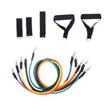 Buy 11pcs/set Yoga Pull Rope Crossfit Fitness Resistance Bands Latex Exercise Tubes Body Training Workout Yoga Elastic Band Rope for $11.95 in AliExpress store