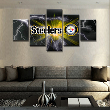 Painting Frame Art Poster Wall Picture 5 Panel Football Sport Club Home Decor Print On Canvas For Living Room Drop Shipping