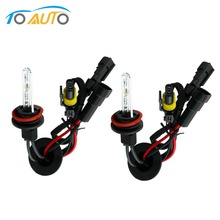 2pcs H8  h11 xenon fog lamp 6000k  car hid lights 12v 35w lamps HID headlight bulbs bixenon lens D0035