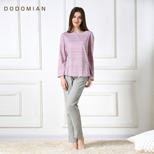 Buy Summer 2 Pieces Clothes Set Women Bodycon Suit Luxury Organic Cotton Women Sleepwear Loose Sleep Pants Crop Tops Tracksuits for $26.05 in AliExpress store
