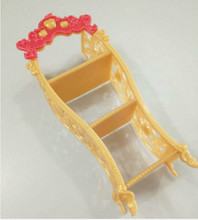 1PC High Doll Furniture Kids Playhouse Shoes Rack For Barbie Dollhouse Storage Racks For Monster Doll Accessory Wholesale