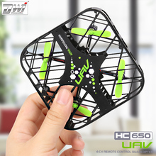 RC Mini Drone 2.4G 4CH UFO Quadcopter Pocket Dron 4 Channels 6-Axis Gyro Quadcopters Helicopters For Kids Toys DWI 650(China)