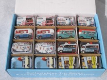32pcs/lot  Small Tin Box Wholesale Metal Storage tins Candy Box Travel Pill Box