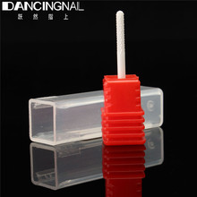 "New 1pcs 3/32"" Small Barrel Ball Ceramic Nail Drill Bits Pedicure Electric Manicure Drills Machine Accessories Polish Clean Nail(China)"