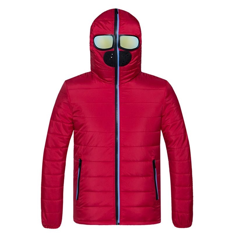 Eyewear Design Jackets Men Winter Coat Thick Warm Cotton Parka Homme Jacket Mens Brand Clothing Parkas Man Slim Fit Down Jackets