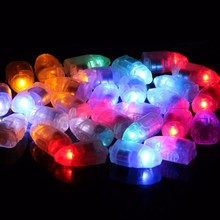 10pcs LED RGB Flash Lamps Balloon Lights for Paper Lantern Balloon Light White,Blue, Green, Yellow Wedding Party Decor T1934