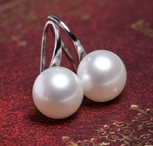 ER205 New Hot Elegant Fashion Jewelry Natural Freshwater Pearl Earrings Girls Party Party Wedding Jewelry Wholesale