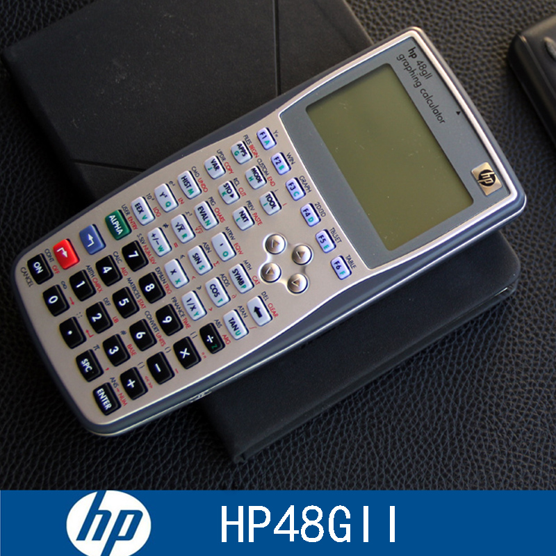 HP Hp-48gii Graphing Calculator AP/SAT/IB/ACT Exam Calculator Engineering, Computer Science, Measurement, Trigonometry