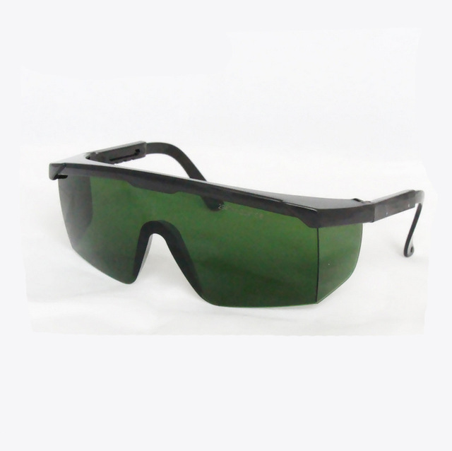 2940nm laser safety glasses O.D 4+ CE certified with style 5, adjustable frame<br>