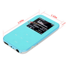 "Free Shipping portable 4GB Ultra-Slim 1.5"" TFT Screen ONN Q2 Sports MP3 Player with FM Radio"