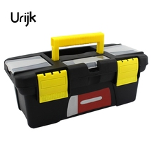 Urijk Large 3 Size Portable Tool Box Large Storage For Tools Components Daily Necessities Woodworker Box Electrician Box Artist(China)
