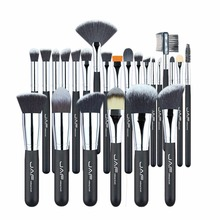 JAF Brand Professional Makeup Brushes Set Kit Lip Powder Foundation Blusher Eye shadow Eyelashes Concealer Brush Tool 24pcs/set(China)