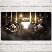 Rainbow Six: Siege CTU PC Gaming Weapon Art Silk Poster Prints Decor Painting 11x20 16x29 20x36 24x43 30x54 Inches Free Shipping