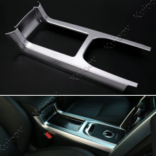 1Pcs Matt Silver font b Car b font Gear Shift Panel Cover Frame Sticker For Land