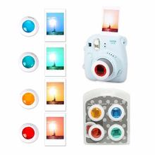 Portable Cute 4 Colors Filter Lens Selfie for Fuji Instax Mini 7S/8/8+/Kitty Polaroid Camera 2017 Hot New Camera Filters