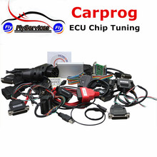 Auto Repair Tool CARPROG Full V9.31 programmer Car Prog (Radios,Odometers, Dashboards, Immobilizer) 21 Full Adapters