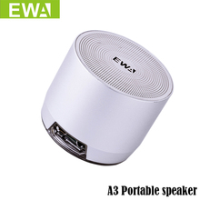 Buy EWa A3 Portable Speaker Phone/PC Wireless Bluetooth Speaker Support 3D Stereo Sound Metal Speakers MP3 Player for $36.00 in AliExpress store