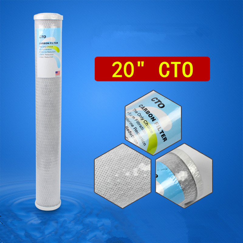 20 CTO Activated Carbon Block Water Filters For Reverse Osmosis System Pre-filter &amp; Water Purifier Filter<br>