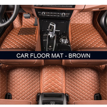 Custom fit car floor mats for Land Rover Discovery 3/4 freelander 2 Range Rover Sport Evoque 3D car styling carpet liner