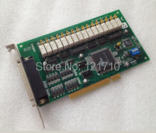 Industrial equipments board PCI-1762 REV.A1 01-4 16-ch Relay and 16-ch Isolated Digital PCI card(China)