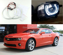 For Chevrolet Camaro 2010 2011 2012 2013 non RS Headlight Excellent led Angel Eyes Ultrabright smd led Angel Eyes Halo Ring kit