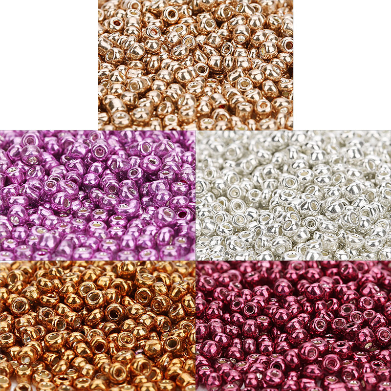 2000PCS//10g Japan Import Seed Beads Glass Bugle Beads Necklace Bracelet Making