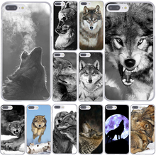 186F Classic Cool Wolf Hipster Print Hard Coque Shell Phone Case for Apple iPhone 7 7 Plus 6 6S Plus 5 5S SE 5C 4 4S Cover