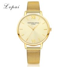 2017 New Lvpai Women Watch Luxury Gold Bracelet Dress Watch Top Quality Ladies Quartz Watch Women Wrist Sport Watch Dropshiping(China)
