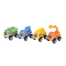 For Children Kids Tractor Toy Truck Car Toys Autos Cute Car For Boys Pull Back Car Model Kids High Quality Toys Gifts