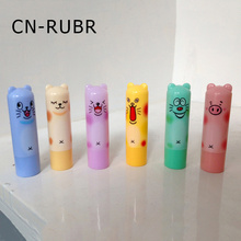 CN-RUBR Cartoon Women Moisturizing Lip Balm New Arrived Natural Nutritious Pomade Cosmetics Cute Make Up Balm For Girl(China)