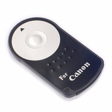 1PC RC-6 RC6 IR Infrared Wireless Remote Control For Canon EOS 6D 700D Rebel T5i Digital Camera Shutter Release + Battery