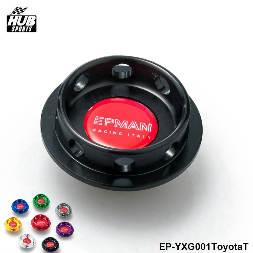 Hubsports - Limited Edition Billet Aluminum Engine Oil Filter Cap Fuel Tank Cover Plug For Toyota HU-YXG001ToyotaT