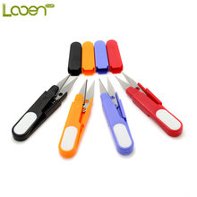 10piece/lot Stainless Steel Blade Plastic Handle DIY Sewing Scissors Used Widely for Cutting Cross Stitch Thrum, Yarn, Thread,