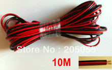 10M 2-PIN Extension Cable Wire leads For 3528 5050 Single Color LED Strip
