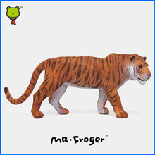 Mr.Froger Tiger Model Toy Wild animals toy set Zoo modeling plastic Solid Classic Toys For Children Animal Model collection cute