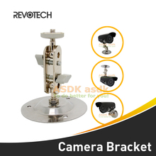 High Quality Silver Metal Wall Mount Bracket Stand Monitor Installation Holder for CCTV Security Camera