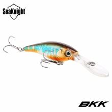 SeaKnight SK006 Minnow Fishing Lures 1PC 62mm 6.2g 0-2.5M Floating Lure Hard Bait Artificial Wobblers BKK Hooks for Carp Fishing(China)