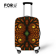 FORUDESIGNS Luggage Cover Vintage Fashion Suitcase Cover 3D Luggage Protector Elastic Suitcase Cover Bags High Quality Dustproof