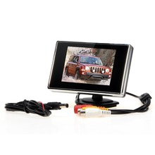 "Car Monitors 3.5"" TFT LCD Car Monitor Auto TV Car rear view camera monitor Parking Assist Backup Reverse Monitor Car DVD Screen"