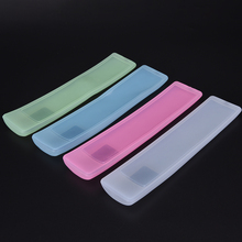 1 PCS Waterproof Silicone Cover Air Condition Control Case TV Remote Control Cover  Dust Protective Storage Bag Organizer