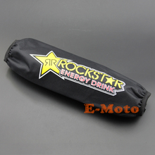 35CM Waterproof Rockstar Rear Shock Cover Protector Guard Cover for Motorcycle Dirt Pit Bike MX motocross ATV Quad