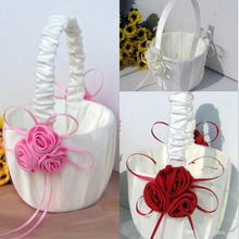 Flower Girl Baskets for Wedding Favors Basket Bridesmaid Petal Basket Wedding Accessories Photography Props Bridal Favors New