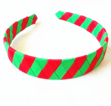 100pcs  DHL Free shipping  Christmas Day Handmade Woven Headband