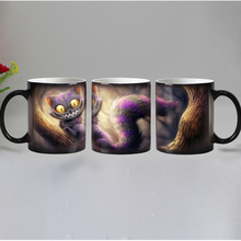 Dropshipping 12 design Animals color changing magic mugs Ceramic coffee tea mug best gift for friends