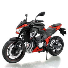 1:12 Scale Motorcyle Toy Simulation Kawasaki Z800 Motor Model Diecast & Alloy Motorbike Toys For Children Brinquedos Adults Gift