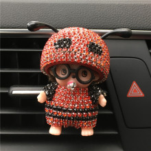 The New Car Perfume Glasses Kiki Bee Outlet Perfume The Air Port Ant Antenna Parfum Women Perfume Original Car-styling