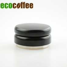1PC Free shipping Professional Espresso WBC Champion Stainless Steel Coffee Tamper  58.5MM adjustable Macaron Coffee Hammer